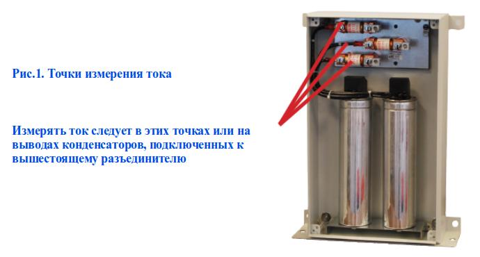 Точки измерения тока